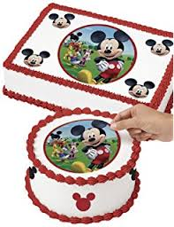 amazon mickey mouse clubhouse birthday cake topper featuring