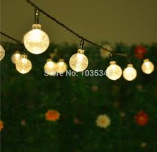 aliexpress buy 20 led solar powered outdoor string lights