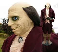 6 ft talking jeeves edwardian butler halloween prop microphone video