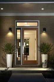 modern prairie style modern prairie style home east features glass front door transom