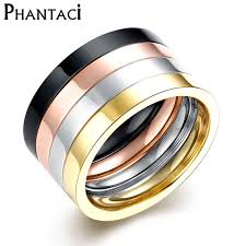 cool jewelry rings images Buy 4 pcs set 316l titanium stainless steel rings jpg