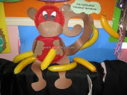 Paper Plate Monkey Craft - monkey craft idea for crafts and worksheets for preschool