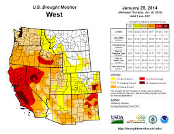 Southwestern United States Map by Current Southwest Drought Exacerbated By Climate Change Swcsc