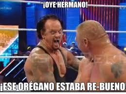 Undertaker Meme - memes con the undertaker y lesnar en el summerslam fox sports