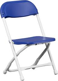 kids blue plastic folding chair y kid bl gg