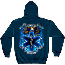 service before self navy graphic hoodie sweatshirt free shipping