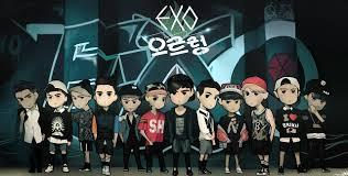 exo growl lyrics fanart 130805 exo growl teaser krayhans