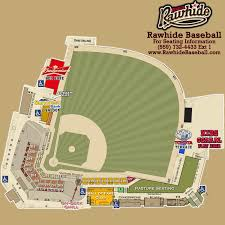 Diamondbacks Stadium Map Rawhide Ballpark Visalia Rawhide Rawhide Ballpark