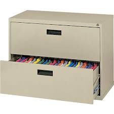 Lateral Filing Cabinet 2 Drawer Mbi 2 Drawer Lateral File Cabinet 26 1 2 H X 30 W X 18 D Putty