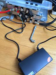 my e life now leaf battery modules charging for the first time
