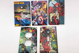 custom light switch covers custom comic book light switch cover by comiccrafts