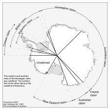 Map Of Antarctica Who Owns Antarctica U2014 Classroom Antarctica