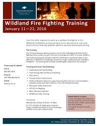 wildland firefighter resume wildland fire fighting training at viu career sense