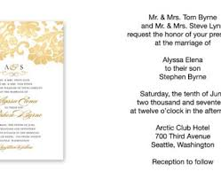 what to write on a wedding invitation sle wedding invitation wording sle wedding invitation