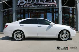 lexus wheels and rims lexus es with 20in lumarai kya wheels exclusively from butler
