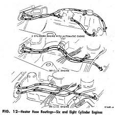 heater hose routing diagrams
