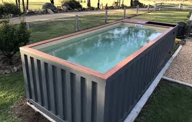 cost of shipping container pool container ideas