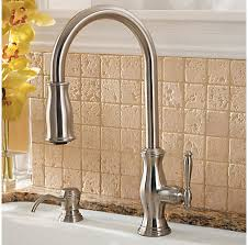 price pfister hanover kitchen faucet stainless steel hanover 1 handle pull kitchen faucet gt529