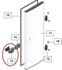 poign馥 de chambre froide poignée serrure intérieure extérieure pour chambre froide