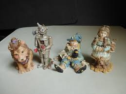 smithsonian set 4 wizard of oz ornaments dorothy tinman