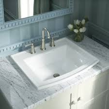 bathroom sinks and faucets ideas drop in sinks you ll wayfair