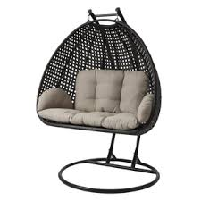 home hardware montauk wicker double hanging basket chair