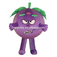 Halloween Grape Costume Grapes Mascot Grapes Mascot Suppliers Manufacturers