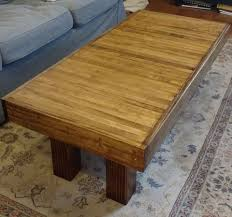 cheap used coffee tables this handsome recycled coffee table used to be a bowling lane
