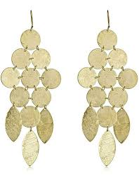 chandelier earings gold chandelier earrings on emily boulden swank