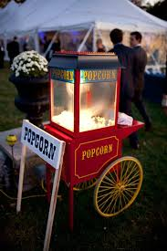 rent a popcorn machine popcorn machine at a wedding sounds delicious reserve one today