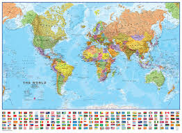 World Map Country Flags Usa State Flag Map Map Of The Usa With Their States Flags United