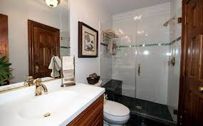 updated bathroom with shower seat u2013 home design examples