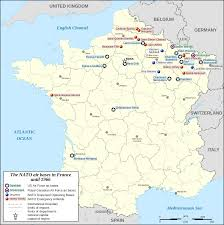 Toulouse France Map by United States Air Force In France Wikipedia