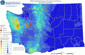 Oregon Weather Map by Dnr Seeks Landslide Information From You We Need To Know About