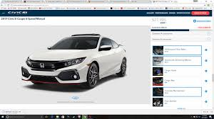honda car png build your 2017 honda civic si online now page 5 2016 honda