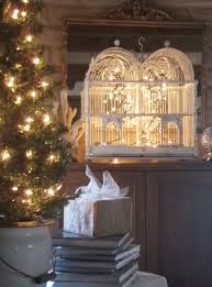 our hopeful home christmas decorating with vintage birdcages