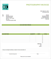 download photography invoice template free download rabitah net