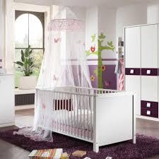 m dchen babyzimmer babyzimmer komplettset noemi in weiß lila wohnen de