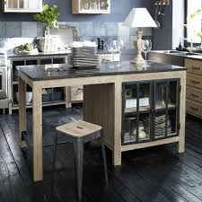 cuisines maison du monde meubles de cuisine indépendant et ilot maison du monde ilot