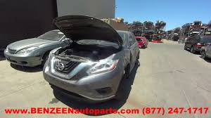 nissan murano ac compressor parting out 2016 nissan murano stock 7284gy tls auto recycling