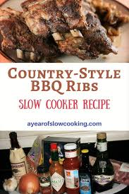 How To Cook Pork Country Style Ribs In The Oven - smoky country style bbq ribs in the slow cooker liquid smoke