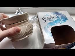 inside a glade electric wax melt warmer youtube