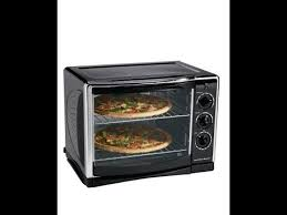 Hamilton Beach Set Forget Toaster Oven With Convection Cooking Hamilton Beach 31197 Countertop Oven With Convection And