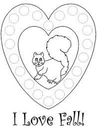coloring pages of autumn inspiring dot art coloring pages autumn bingo dauber 2300