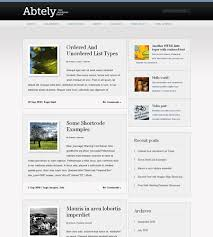 wordpress 3 compatible u0026 custom menu widget ready sidebar