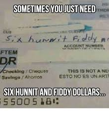Cus Memes - sometimes you just need cus account number ftem this is not a ne