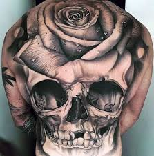50 3d skull tattoo designs for men cool cranium ink ideas