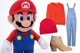 Mario Luigi Halloween Costume Minute Halloween Costumes 2014 Teen Vogue