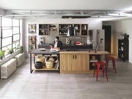 cuisine style indus cuisine style industriel vintage design de maison