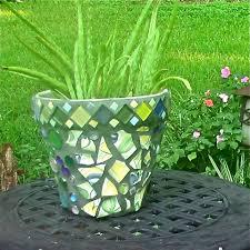 garden mosaic ideas mosaic art mickie u0027s blooming garden